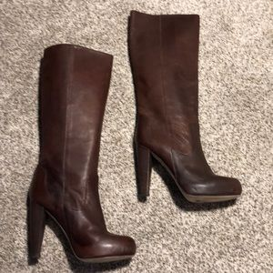 Loeffler Randall Platform Heel Boots